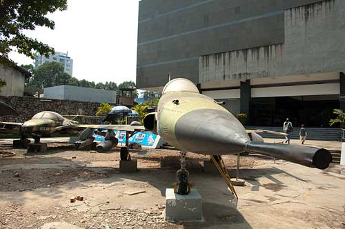 F-5A jet fighter, Museum of War Remnants, Saigon, Vietnam