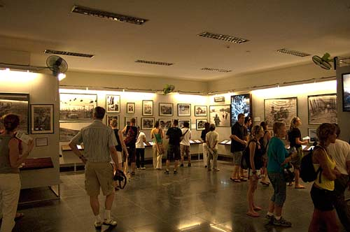 photo exhibition, Museum of War Remnants, Ho Chi Minh City, Vietnam