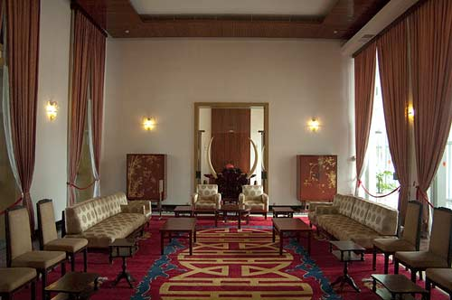 meeting room, Reunification Palace, Saigon, Vietnam