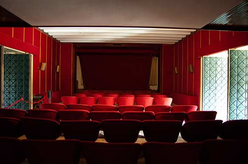 private cinema, Reunification Palace, Ho Chi Minh City, Vietnam