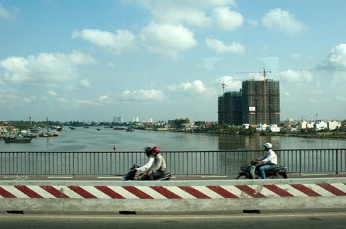 Saigon River, Ho Chi Minh City, Vietnam