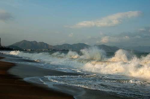 surf, Nha Trang Beach, Vietnam