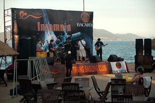 Sailing Club stage, Nha Trang, Vietnam