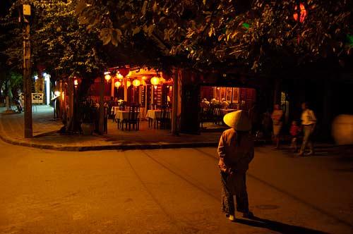 street corner, Hoi An, Vietnam