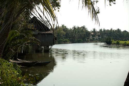 Thu Bon River, Hoi An, Vietnam