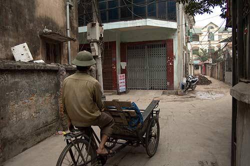 cyclo, Cau Giay, Hanoi, Vietnam
