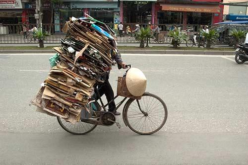 recycling, Hanoi, Vietnam
