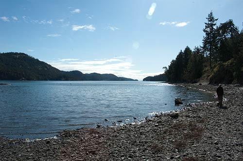 Medicine Beach, Pender Island, BC