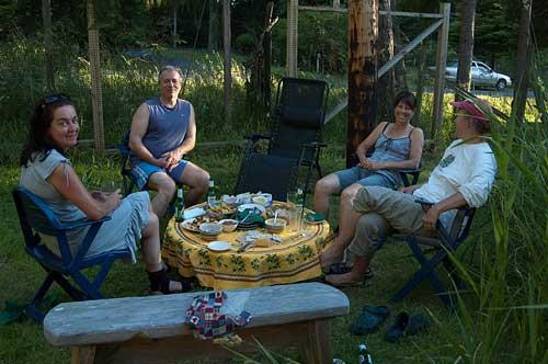 Enjoying the good life, Pender Island