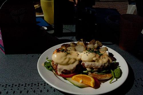 Crabby Benny, 3rd Street Cafe, Sidney, BC