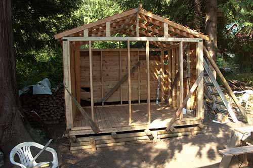 woodshed, Pender Island, BC