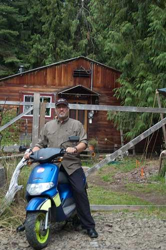 Derbi scooter, Pender Island