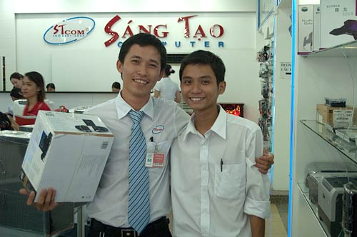 Sang Tao Computers, Ho Chi Minh City, Vietnam