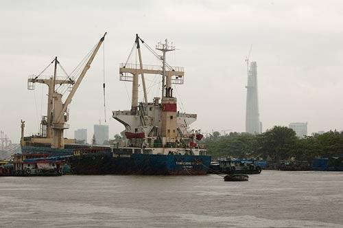 Saigon River, Vietnam
