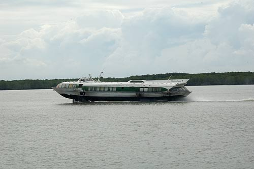 Hydrofoil, Saigon River, Vietnam