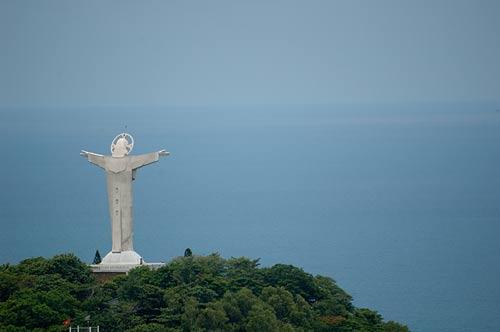 statue of Jesus, Vung Tau, Vietnam