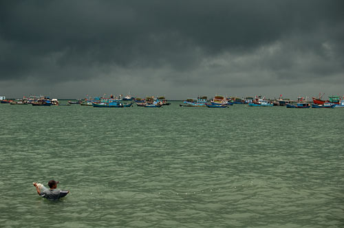 storm clouds, Vung Tau, Vietnam