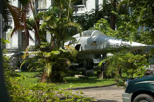 F-5E fighter jet, Saigon, Vietnam