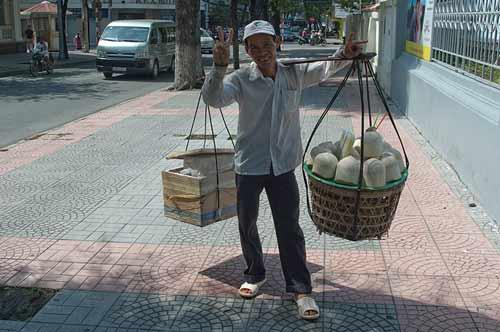 street vendor, Ho Chi Minh City, Vietnam