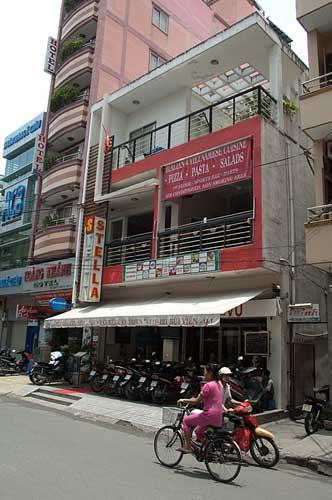 Stella Restaurant, Saigon, Vietnam