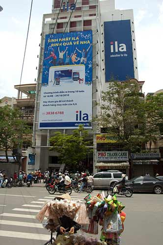 ILA building, Ho Chi Minh City, Vietnam