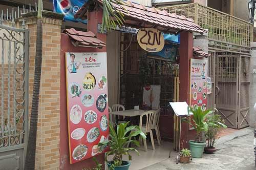 Zen Restaurant, Ho Chi Minh City, Vietnam