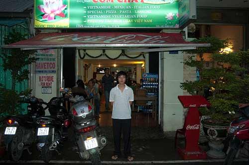 Ngoc Tho Com Chay, Ho Chi Minh City, Vietnam