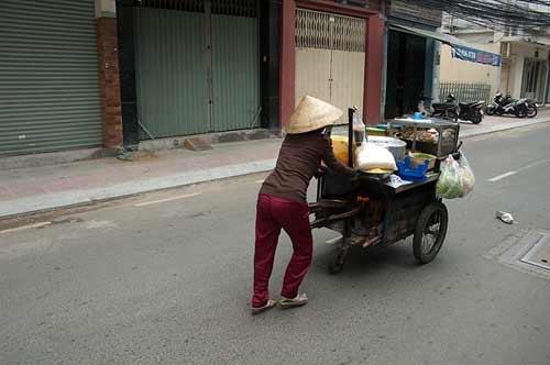 food cart, Saigon, Vietnam