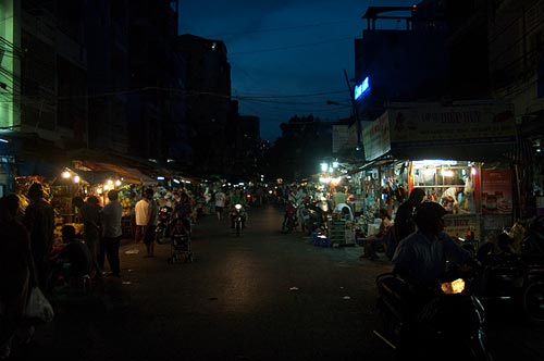 night market, Saigon, Vietnam