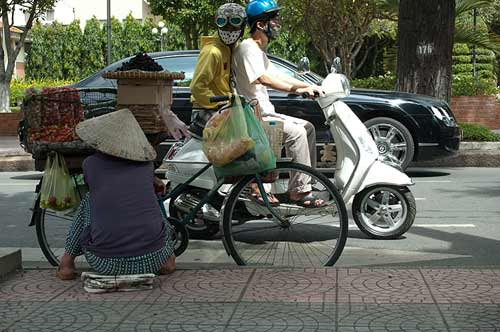 various forms of transport, Ho Chi Minh City, Vietnam