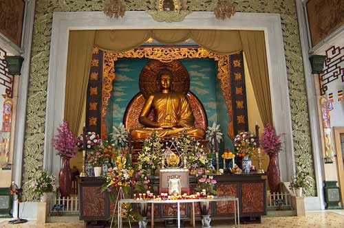 Xa Loi Pagoda, Ho Chi Minh City, Vietnam