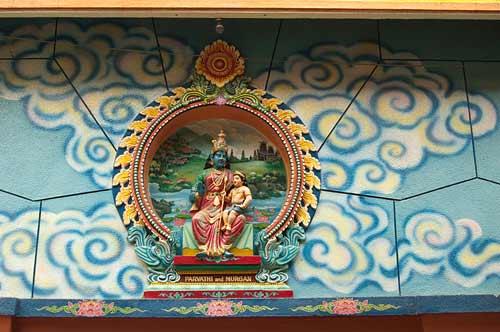 Mariamman Temple, Saigon, Vietnam