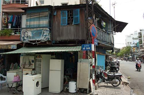 funky appliance shop, Saigon, Vietnam