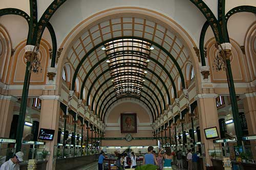 Central Post Office, Ho Chi Minh City, Vietnam