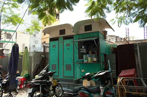 public toilets, Saigon, Vietnam