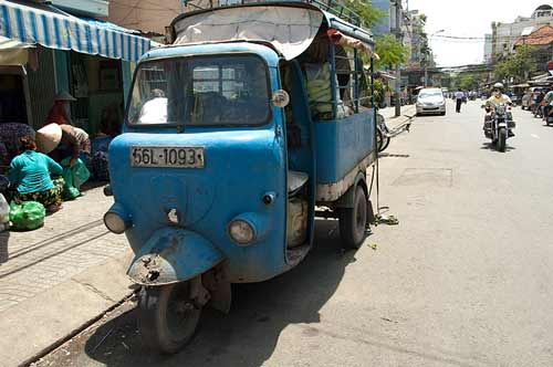 small truck, Saigon, Vietnam