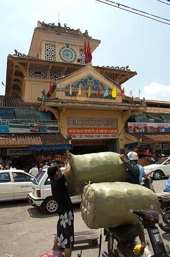 Cho Binh Tay market in Cholon, Ho Chi Minh City, Vietnam