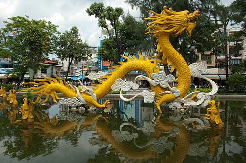 Nine Dragons Park, Ho Chi Minh City, Vietnam