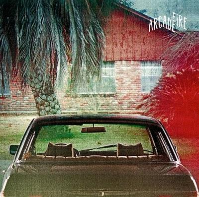 Arcade Fire: The Suburbs album cover
