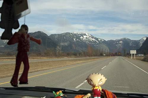 leaving Kamloops, BC on the Trans Canada highway