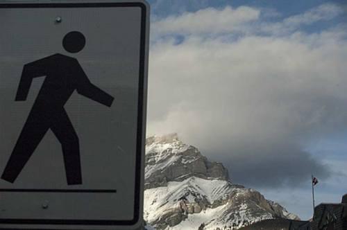 Banff, Alberta view of Rockies