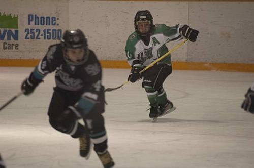 kids hockey game Calgary, Alberta