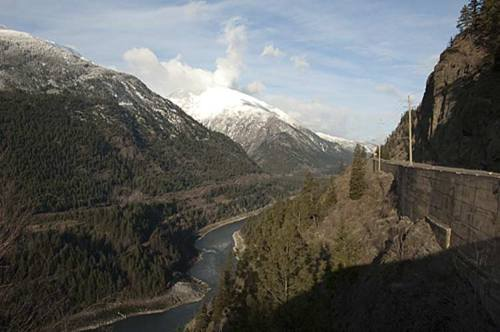 Trans Canada Highway, Fraser Canyon, BC