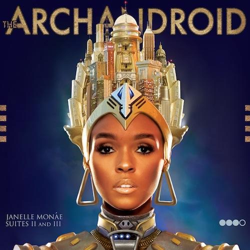 Janelle Monae: The ArchAndroid album cover