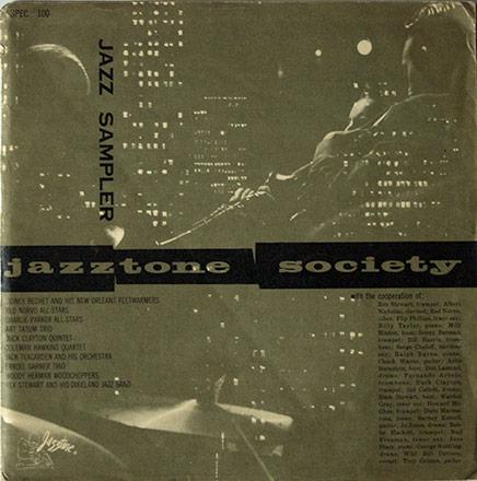 Jazztone Sampler 10 inch record