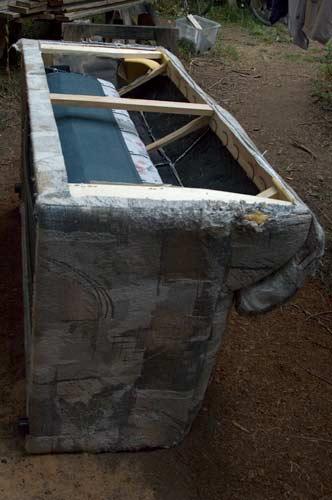 Hide-a-bed deconstruction