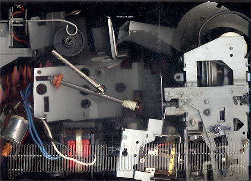 deconstructed slide projector