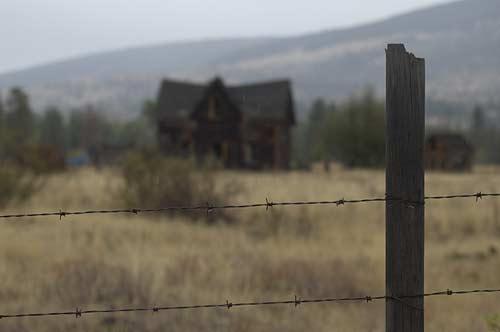old house outside Merritt, BC