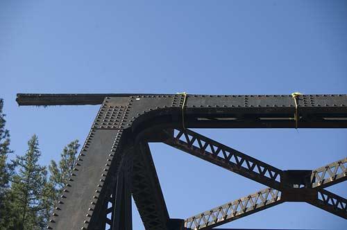 diving board on Kettle River bridge