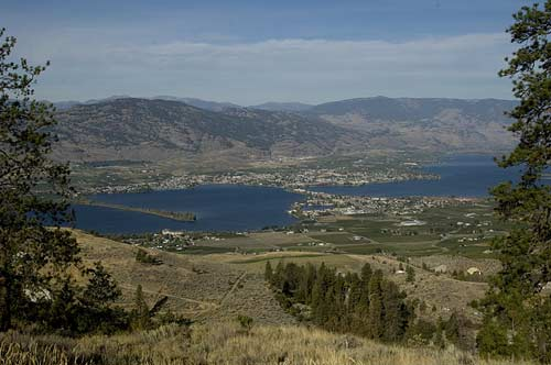 view of Osoyoos Lake